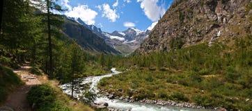 Gran Paradiso Nationalpark Lizenzfreies Stockbild