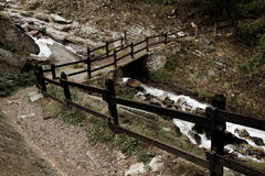 Gran Paradiso path Stock Photos
