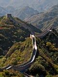Gran pared china Foto de archivo libre de regalías