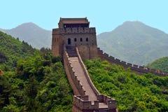 Gran pared china Imagen de archivo libre de regalías