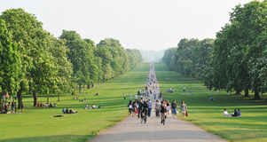 Gran parque de Windsor Fotos de archivo libres de regalías