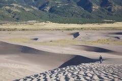Gran parque nacional de las dunas de arena Foto de archivo
