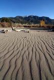 Gran parque nacional de las dunas de arena Fotos de archivo