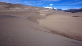Gran parque nacional de las dunas de arena Imagen de archivo