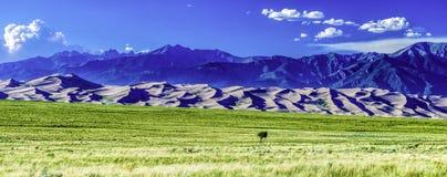 Gran parque nacional de las dunas de arena, CO Fotografía de archivo