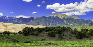 Gran parque nacional de las dunas de arena, CO Imagen de archivo libre de regalías
