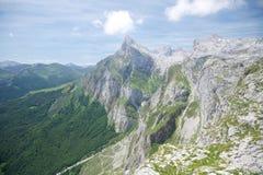 Gran pico en Cantabria Fotografía de archivo libre de regalías