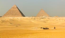 Gran pirámide Foto de archivo libre de regalías