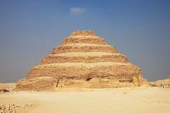 Gran pirámide caminada Imagen de archivo libre de regalías
