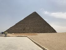 Gran pirámide del ˆPyramid del ¼ de Gizaï del ‰ del ¼ de Khufuï fotos de archivo