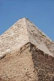 Gran pirámide egipcia Fotografía de archivo