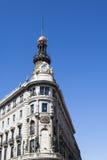 Gran Przez budynków, Madryt Fotografia Royalty Free
