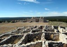 Gran Quivira/Las Humanas Pueblo royalty-vrije stock fotografie