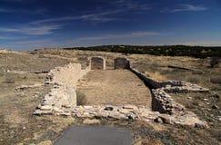 Gran Quivira Mission Ruins. Gran Quivira Ruins at Salinas National Monument in the State of New Mexico Stock Images