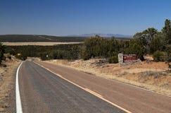 Gran Quivira Ruins Entrance. Gran Quivira Ruins at Salinas National Monument in the State of New Mexico Royalty Free Stock Image