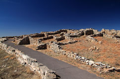 Gran Quivira Ruins. At Salinas National Monument in the State of New Mexico Royalty Free Stock Photography