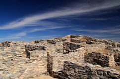 Gran Quivira Ruins. At Salinas National Monument in the State of New Mexico Stock Image