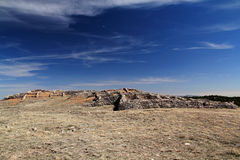 Gran Quivira Ruins. At Salinas National Monument in the State of New Mexico Royalty Free Stock Images