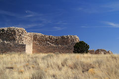 Gran Quivira Ruins. At Salinas National Monument in the State of New Mexico Stock Photography