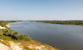 Gran río Foto de archivo libre de regalías