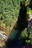 Gran río chileno Fotos de archivo