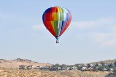 Gran raza de Reno - globos del aire caliente imagen de archivo