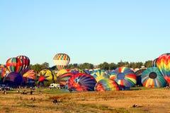 Gran raza del globo de Reno fotos de archivo libres de regalías