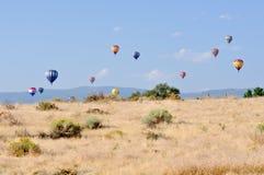 Gran raza del globo del aire caliente de Reno Fotos de archivo libres de regalías