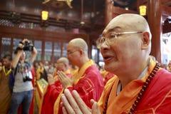 Gran rogación del shishenghui de los monjes Imágenes de archivo libres de regalías