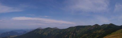 Gran rozututec, canto meridional y stoh, montañas fotografía de archivo libre de regalías