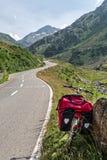 Gran San Bernardo (Switzerland) - Bicycle Royalty Free Stock Images