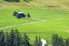 Gran San Bernardo (Switzerland) - Cottage Stock Images