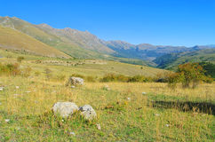 Gran Sasso. Mountains in southern Italy royalty free stock photography