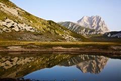 Gran Sasso av Italien Arkivfoto
