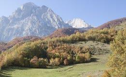 Gran sasso. D'Italia in Abruzzo stock images
