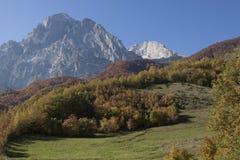 Gran sasso. D'Italia in Abruzzo royalty free stock photos