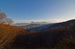 Gran Sasso dal della Laga di Monti Fotografie Stock Libere da Diritti