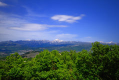The Gran Sasso, Italy Royalty Free Stock Images