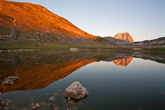 Gran Sasso of Italy Stock Images