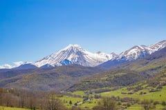 Gran Sasso L'Abruzzo L'Italia Fotografia Stock Libera da Diritti
