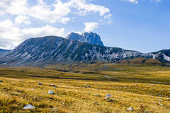 The  Gran Sasso National Park Stock Photo