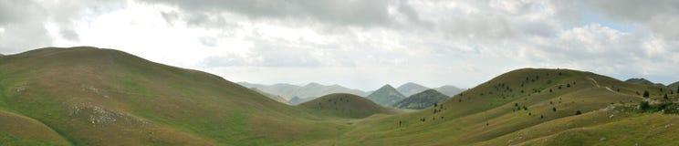 Gran sasso national park panorama 2 Stock Photography