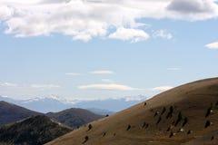 Gran Sasso nationalpark i Italien royaltyfria bilder