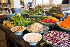 Gran selección de platos vegetarianos fotografía de archivo libre de regalías