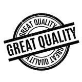 Gran sello de goma de la calidad Foto de archivo libre de regalías