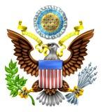 Gran sello de los Estados Unidos Imagenes de archivo