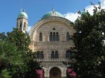 Gran sinagoga de Florencia Imágenes de archivo libres de regalías