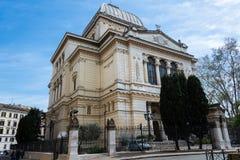 Gran sinagoga de Roma Fotos de archivo