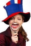 Gran sonrisa Foto de archivo libre de regalías