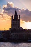 Gran St. Martin Church en Colonia imagen de archivo